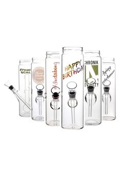 Bottle Bong Set (6x Bottle Bong)
