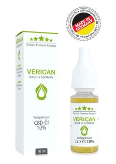 Verican CBD Fullspectrum Oil 10%